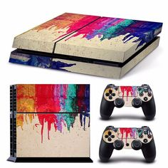 Bleeding Colors S...  http://www.hellodefiance.com/products/bleeding-colors-skin-ps4-protector?utm_campaign=social_autopilot&utm_source=pin&utm_medium=pin