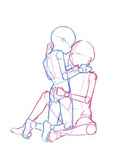 Couple Poses Drawing, Drawing Body Poses, Couple Drawings, Figure Drawing Reference, Drawing Reference Poses, Body Drawing Tutorial, Drawing Anime Clothes, Drawing Templates, Poses References