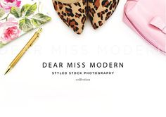 Chic 4 by DEAR MISS MODERN on @creativemarket