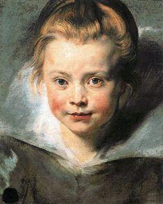 ルーベンスの「クララ・セレーナ・ルーベンスの肖像」