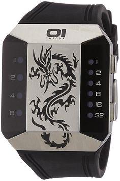 Binary THE ONE SC129R3 - Reloj unisex de cuarzo, correa de caucho color negro