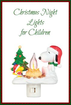 Holiday Nightlights for Children. It's never to early to buy stocking stuffers!