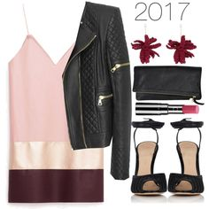 Untitled #1277 by meelstyle on Polyvore featuring Balmain, Gianvito Rossi, Lucy Folk and Chantecaille