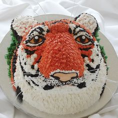 Tiger cake #Fanatics #Ultimate Tailgate