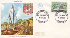 Timbre 1961 : COGNAC | WikiTimbres