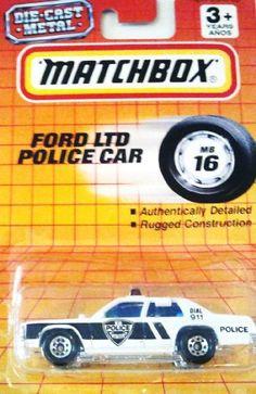 1994 Matchbox MB16 - Ford LTD Police Car by Matchbox. $12.99. 1994 Matchbox…