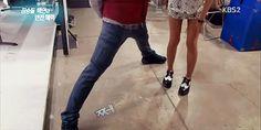 "10 Priceless ""manner legs"" poses3. Ok Taecyeon (6' 1"" or 185 cm)"
