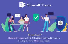News of the Day  #microsoftteams #microsoftteamsvsslack #microsoftteamsforthewin #microsoftteamsapp #slack #slackline #slacklife #workplace #collaboration #tech #news #info #microsoftteamsedu #teamcollaboration #IT