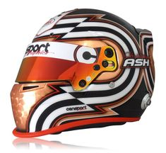 edf6197287a7d Racing Helmets Garage  Bell Carbon C.Ash 2016 by Censport Graphics