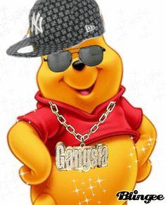 POOH BEAR IS A GANGSTA!!