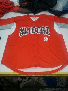 Custom Sliders Full button Jersey 00f0aba42