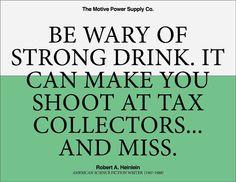 Wary #heinlein #quote