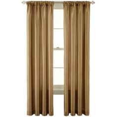 Royal Velvet® Encore Rod-Pocket/Back Tab Curtain Panel  found at @JCPenney