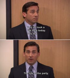 Most memorable quotes from Michael Scott, a movie based on film. Find important Michael Scott Quotes from film. Michael Scott Quotes about life in the Dunder Mifflin paper company. Best Of The Office, The Office Show, Tv Show Quotes, Movie Quotes, Funny Quotes, Office Jokes, Worlds Best Boss, Senior Quotes, Best Shows Ever