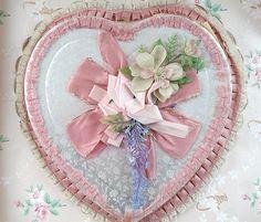 Vintage Valentine Heart Candy Box, via Flickr.