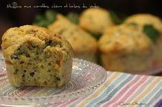 Muffins carottes chevre herbes