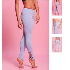 Popflex periwinkle legging Brand new with tags. Size 6. Love the fabric! Popflex Pants Leggings