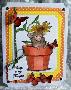 Sues Rubber Stamping Adventures: House Mouse and Friends Monday Challenge # 145 Mid-Week Reminder