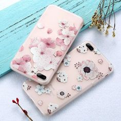 Blossoming Flowers Floral Iphone Case, Cute Phone Cases, Iphone 7 Plus Cases, Flowers, Free Shipping, Instagram, Fashion, Moda, Fashion Styles