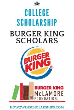 Burger King Scholars College Scholarship Program Burger King Scholars College Scholarship Program Win up to 50000 for school college scholarships Grants For College, College Fund, Financial Aid For College, College Planning, Online College, College Hacks, Scholarships For College, Education College, College Life