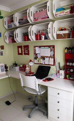 DISEÑO de espacio de trabajo #sencilla #economica #diseñointerior #decoracion