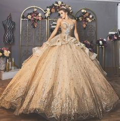 6 Quinceanera Dresses Ideas To Look Like a Princess - 15 Anos Fiesta Quince Dresses, 15 Dresses, Pretty Dresses, Evening Dresses, Formal Dresses, Bridal Gowns, Wedding Gowns, Wedding Outfits, Fantasy Dress