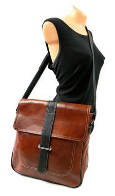 L1 Handtasche, Ledertasche 'Dispatch' A4  von ADA' MIAK LEATHER auf DaWanda.com