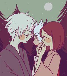 I finally got to watch hotarubi no mori e this morning!!  I enjoy things that make me cry