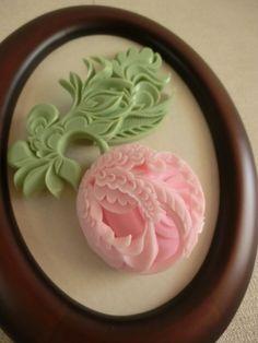 ソープカービングアレンジSoap carving work#Soap flower#craft