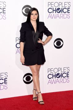 Ariel Winter in Smythe dress and Aldo shoes - People's Choice Awards - Elle