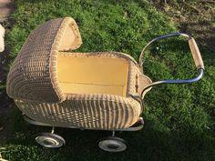 Puppenwagen alt antik vintage retro nostalgie Korbkinderwagen | eBay