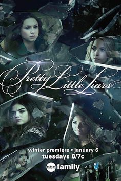 We are obsessed with the new PLL poster! Who else is excited for tomorrow's winter premiere?   Pretty Little Liars