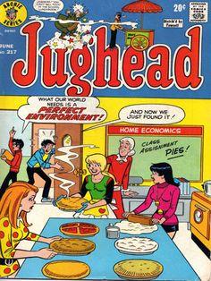 Jughead 217, Archie Comic Publications https://www.pinterest.com/citygirlpideas/archie-comics/