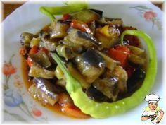 Patlıcan silkme (İzmir) Tarifi - m.lezzetler.com Middle Eastern Recipes, Beef, Food, Meat, Essen, Meals, Yemek, Eten, Steak