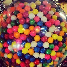 So many gumballs! #celebrateeveryday