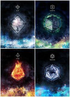 Elemento: Aire, fuego, tierra y agua