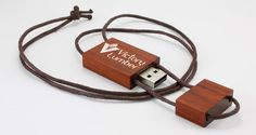 Wooden Necklace USB Drive. If you want to customize a good-looking USB Flash Drive, visit www.unifiedmanfuacturing.com.