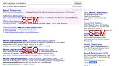 web designing companies in chennai: Difference Between SEO and SEM