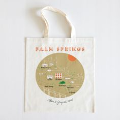 Palm Springs Tote - The Wedding Chicks Shop