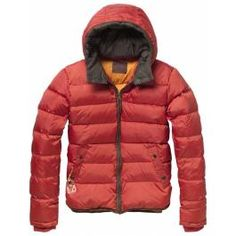 Detachable hooded nylon jacket - Jackets - Scotch & Soda Online Shop