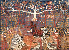 Ramses Wissa Wassef Art Centre Tapestries, Tree of Life by Fayek Nicolas