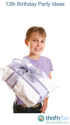 This is a guide about 12th birthday party ideas for boys. Planning a 12th birthday party for a boy, is an important job. You need to design a party that is fun for all and OK with the parents.