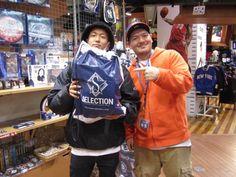 【大阪店】2014年12月4日 ヤンキースのジャケットをご購入頂きました。 ストリートでもガッツリ着ちゃってくださいね☆ 次は、東京でお会いしましょう~