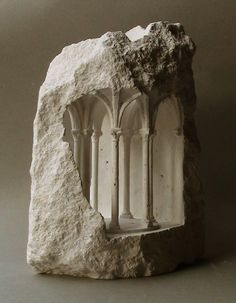 Gallery of Stone Sculptures Reveal Monumental Architecture at a Micro Scale - 6