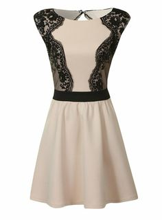$110, no way....could easily put black lace on a white dress for added interest