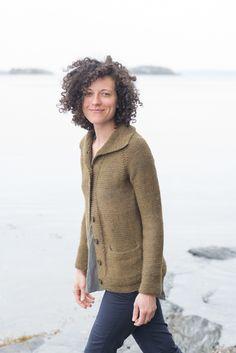 Barn Sweater by Carrie Bostick Hoge, pattern now available on Madder and Ravelry