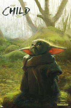 Star Wars Poster, Star Wars Art, Star Trek, Mandalorian Poster, Yoda Images, Yoda Funny, Yoda Meme, Science Fiction, Pop Art