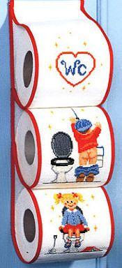 WC papír tartó (d)