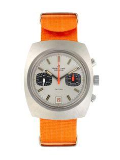 Vintage Watches  Breitling Stainless Steel Datora (c. 1960s)