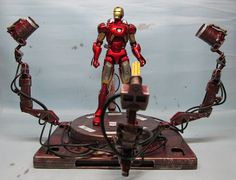 assemblage 1:12 scale iron man gantry by Valerobots on Etsy